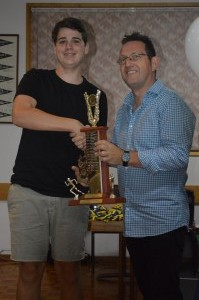 Peter Anderson Trophy- Oliver Courtnay