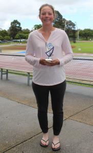 Under 20 women's winner - Emma Peters