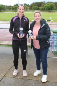 Open Women - Winner Bree McLennan, runner-up Claire Osborn