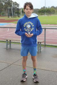 Under 12 Boys - runner Up John Thornton