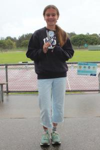 Under 14 seniors – runner-up Jasmine Orelli