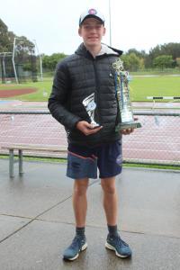 Margaret Saunders Award winner - Caleb Kilpatrick
