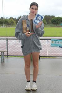 John Bedggood Memorial Trophy - Tiana Boras