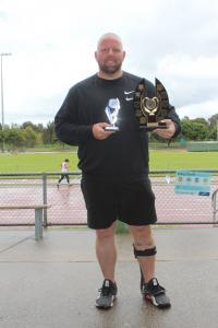 Richard Colman Trophy- Marty Jackson