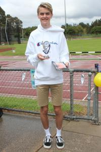 Under 18 men's – runner-up D'Artagnan Reed Broekman
