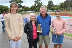 McDonald Family Award (presented by Mary & Geoff McDonald) - Ryan Costin, Claudia Paul, Tiana Boras (absent).