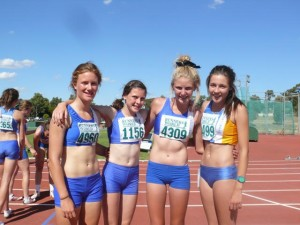 2012 girls relay