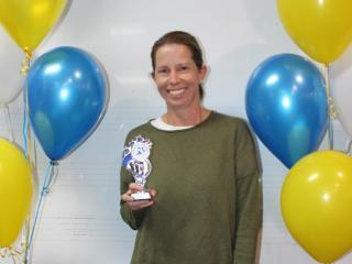 40+ women runner-up Donna Braden.