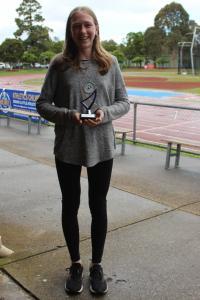 Under 16 women's winner - Bethany Dean
