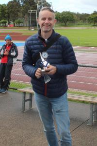 40+ men's winner - Steve Colquhoun