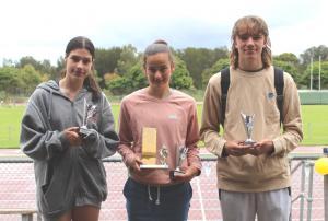 McDonald Family Award - Tiana Boras , Claudia Paul, Ryan Costin
